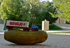 Truckin' on a Pickle (ricko) Tags: truck toy semi navajo pickle tractortrailer mdpd2014 mdpd1409