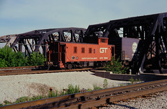 GT 79060 at Blue Island, IL (dl109) Tags: caboose grandtrunk