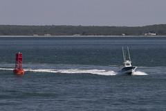 Homeward! (brucetopher) Tags: ocean sea seascape water boats bay coast boat capecod massachusetts atlantic shore 7d boating coastline atlanticocean bodiesofwater buoy saltwater buoyant canon7d brucetopher