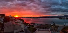 Up!!! (Emilio Rodríguez Álvarez) Tags: luz sol mar agua asturias paisaje galicia amanecer lugo castropol ribadeo figueras ría atadecer