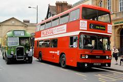 LHT 911 & A686 MWX (Solenteer) Tags: bristol bbw salisbury westyorkshire leyland olympian ecw 3835 2388 a686mwx lht911 l6g wiltsdorsetcentenary
