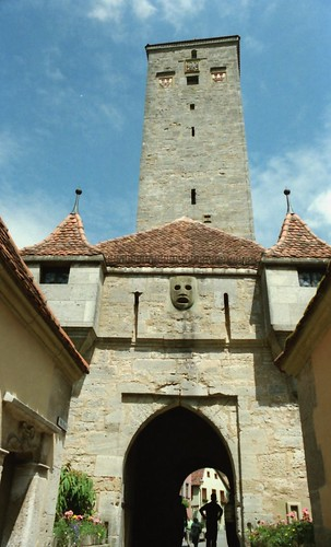 Rothenburg - Burgtor