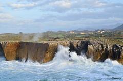 El mas Cantábrico y la costa asturiana - Bufones de Pría (Asturias)  Spain
