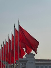 Tiananmen Square Flags (GillWilson) Tags: china beijing flags tiananmensquare