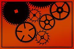 A Clockwork Orange (Lo8i) Tags: 52weeksofpix2017 aclockworkorange stanleykubrick circle clockworks gears geometry macro macromondays movietitles superslider flickrlounge