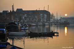 Redcliffe Wharf (Explored 18/03/2017) (zolaczakl) Tags: march 2012 bristol redcliffewharf sunset boats nikond90 nikon18105mmvrlens harboursideevening harbourside reflections uk photographybyjeremyfennell