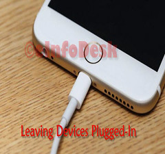 leaving devices plugged in (eInfoDesk) Tags: 10 ways make your phone live longer methods steps care