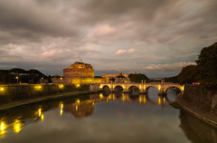 The sky over Rome 3 (alf.branch) Tags: rome italy city landscape river sunset clouds refelections reflection olympus olympusomdem5mkii zuiko ziuko918mmf4056ed alfbranch afternoonlight