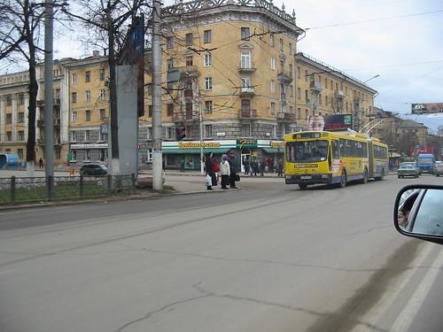 Tula trolleybus 104 Renault PR180HPU02A1 ex-Saint-Étienne 104