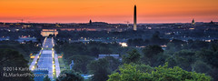 Sunrise Over Washington, D.C. (KLMP) Tags: usa house cemetery arlington sunrise national va lee arlingtonnationalcemetery