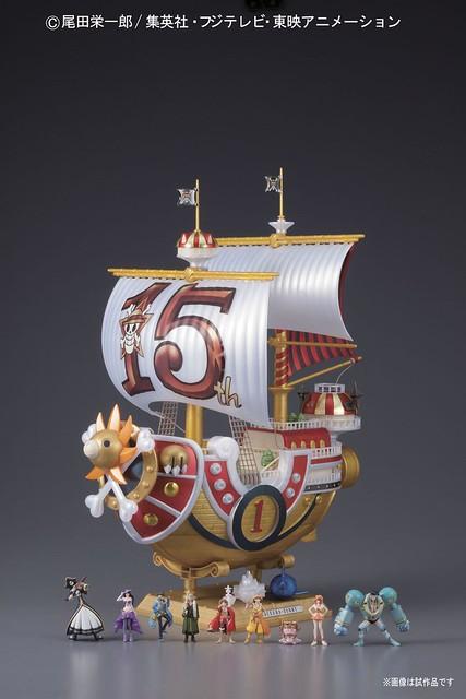 海賊王 千陽號 TV動畫15周年版 組裝模型