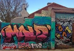 Brunswick St and surrounds, Melbourne. (1llustr4t0r.com) Tags: street urban art graffiti fitzroy australia melbourne brunswick illustrator lush 1llustr4t0r