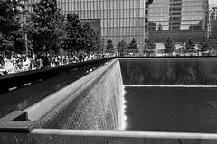 North Tower Reflection (SamuelWalters74) Tags: newyorkcity manhattan worldtradecenter lowermanhattan 911memorial freedomtower 1worldtradecenter 1wtc oneworldtradecenter