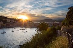 Baia del Silencio - Sestri Levante - Liguria (Stefan Napierala) Tags: italien sunset italy italia tramonto sonnenuntergang liguria sestrilevante tigullio ligurien baiadelsilencio stefannapierala