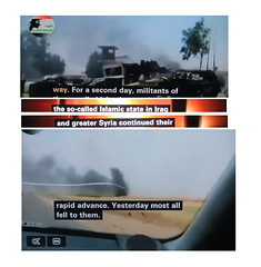 2014_06_120001 - most all fell to ISIS (t3) (Gwydion M. Williams) Tags: uk greatbritain england funny britain islam iraq humor humour syria isis iraqwar subtitles captions subtitle misprint alqaeda islamists misprints syriancivilwar