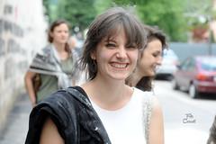 Flour in the hair (Niccol Caranti) Tags: portrait girl smile hair liceo trento sorriso flour ritratto ragazza scuola capelli farina maturit dsc0572 nikond700 orali