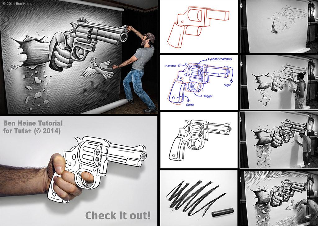 Learn to paint 3d geometric lozenge art | spirograph tutorial.