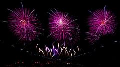 Canberra Skyfire 2014 (David Tao Photography) Tags: show carnival sky festival fun evening display fireworks capital australia parade celebration entertainment glowing canberra burst anzac parliamenthouse skyfire