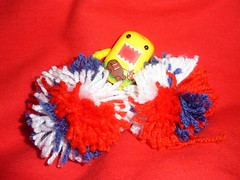 A Sunny 4th! (Bebopgirl1969) Tags: blue red white yellow domo 4thofjuly travellingdomo