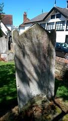 John Suckling headstone