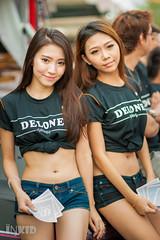DSC04374 (inkid) Tags: girl model sticker pretty babe delone