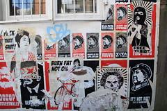 burn fat not oil (Rasande Tyskar) Tags: street streetart stencils art stencil kunst hamburg graffity vandalism altona schablone altonaaltstadt strasenkunst isthisvandalism occupystreetwalls