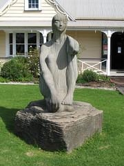 062 - Statue du musée de Whangarei