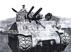 """A Sherman with a coaxial flame thrower • <a style=""""font-size:0.8em;"""" href=""""http://www.flickr.com/photos/81723459@N04/14442178546/"""" target=""""_blank"""">View on Flickr</a>"""