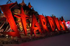 Las Vegas   |   Stardust (JB_1984) Tags: stardust boneyard neon sign museum neonmuseum hdr highdynamicrange dusk twilight bluehour decay downtownlasvegas lasvegas nevada nv unitedstates usa nikon d7100 nikond7100