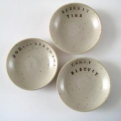 Biscuit Cookie Bowls (Jude Allman) Tags: ceramic ceramics cookie crafts craft bowl biscuit jude clay bowls stoneware allman