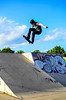 hoDGKins (philipp.richter) Tags: park blue sky nature composition 35mm photography ramp dof skateboarding bowl ollie skate rats tranny troll 18 richter philipp avon stratford upon skateboarders steeze noseblunt