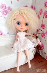 Abbie: Custom Blythe doll