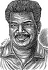 Director SHANKAR Portrait   Pen Drawing by Artist AniKartick Chennai Tamil Nadu India
