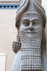 Lamassu from the citadel of Sargon II – Smarthistory