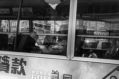 Bus ride (Luminor) Tags: china leica people me 35mm asian blackwhite asia availablelight candid streetphotography rangefinder hong kong summicron sin po sui sham m9 benedict nea 1411 neighbourhoods localscenes lifeinhongkong leicaimages streetoggs