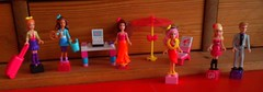 My Collection so far (Just a Nobody) Tags: summer nikki lego ken barbie teresa figures copy mega bloks