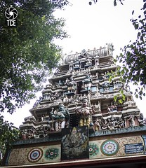 The Gopuram of Dodda Ganapathi Temple (The.Creativity.Engine) Tags: india history architecture canon religious ganesha flickr religion bangalore historic ganesh karnataka hindu hinduism gopuram kempegowda bengaluru