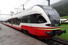 TRN/RVT Trainset type RABe527 332. (Franky De Witte - Ferroequinologist) Tags: de eisenbahn railway estrada chemin fer spoorwegen ferrocarril ferro ferrovia
