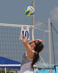 Gulf Shores Beach Volleyball Tournament (Garagewerks) Tags: woman beach girl sport female court sand all child gulf sony sigma tournament volleyball shores f28 70200mm views50 views100 views150 slta77v