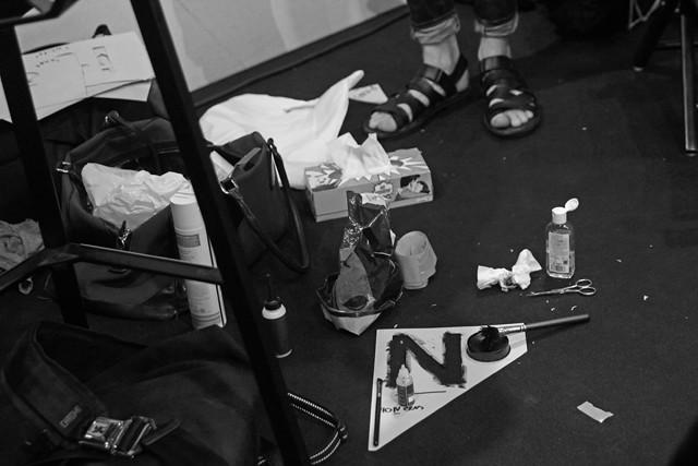 UdK Schau 2014 - Backstage