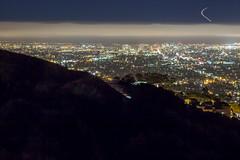 Oakland Bay Area Long Exposure (peterd_yah) Tags: sky night landscape oakland bay berkeley cities hills bayarea streaks