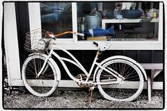 bike bicycle urbanart pacificnorthwest washingtonstate washingtoncoast graysharborcounty artfilter seabrookwa bicycleasart olympusartfilter olympusep5 olympus1250mmf3563
