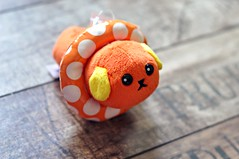 Mameshiba Orange Jelly Bean in Swim Ring Mini Keyring Plush (MoonBaby2202) Tags: cute japan toy pretty colours sweet hellokitty small mini sanrio collection kawaii colourful collectible gashapon stationery crux qlia rilakkuma sanx kamio mindwave poolcool mameshiba