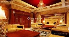 Thiết kế nội thất phòng khách tân cổ điển_013
