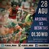 Lokasi Nobar: Teaser: @Arsenal vs @Besiktas | cc: @MDGArsenal @Arsenalnews_IND #AFC #BESIKTAS #ARSENAL #COYG #VCC #UCL #ChampionsLeague #EmiratesStadium