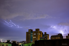 IMG_5108 (HS.Lee()) Tags: summer night lightning   tamron thunder  canan 1116 60d