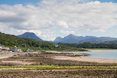 Gairloch church and hills (Brian Ritchie) Tags: scotland unitedkingdom gairloch strath