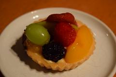 Fruit Tart From Porto's (jjldickinson) Tags: food fruit dessert baking strawberry blackberry peach longbeach pastry custard wrigley tart grape fruittart portosbakerycafe nikond3300 promaster52mmdigitalhdprotectionfilter 100d3300 nikon1855mmf3556gvriiafsdxnikkor
