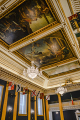 St Patrick's Hall in the State Apartments at Dublin Castle - Dublin Ireland (mbell1975) Ta