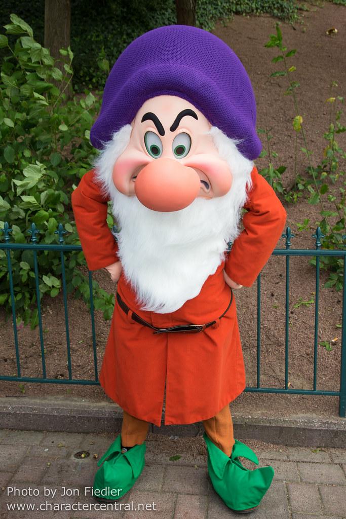 Grumpy At Disney Character Central